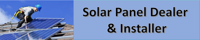 solar panel dealer and installer