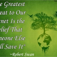 Save Earth - Proper Utilization of Resources.