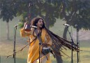 New Delhi: Parvathy Baul an artist from West Bengal performing during 96th birth anniversary of the former Prime Minister Indira Gandhi at her memorial Shakti Sthal in New Delhi on Tuesday. PTI Photo by Kamal Singh (PTI11_19_2013_000115A)