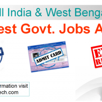 Latest Govt Jobs, Admit Cards etc. Advt.