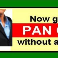 Apply for PAN Card from any where in India