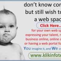 don't know computer but still wish to have a web space!!