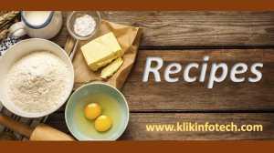 klik infotech recipe blogs