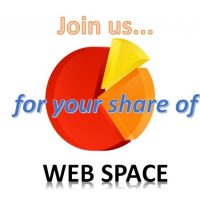 Join us... for your share of WEB SPACE