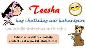 klik infotech teesha key chutkulay aur kahaniyan