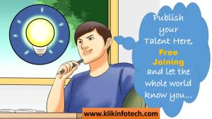 klik blogs - express your talent world wide