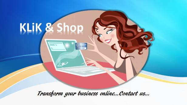 kliknshop make your business online