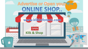 Advertise or open your business online or open your online shop