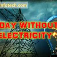 A Day Without Electricity