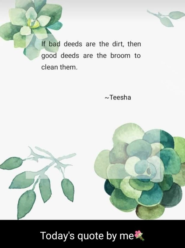 teesha quote