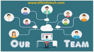 klikinfotech team