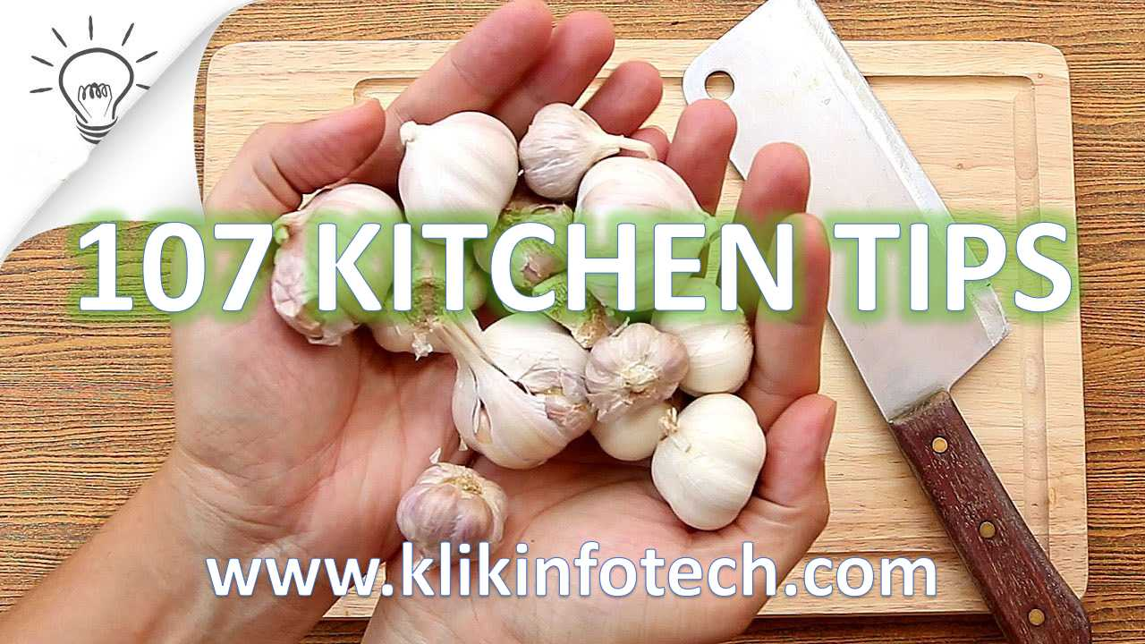 107 Kitchen Tips