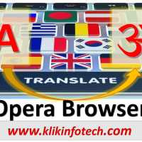 How to translate any web page on Opera Browser