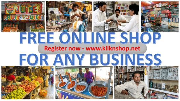 free online shop for any business