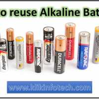 How to reuse an alkaline battery