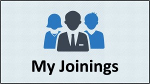 my joinings