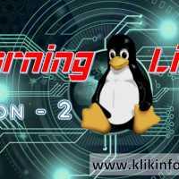 Learning Linux - Lesson 2