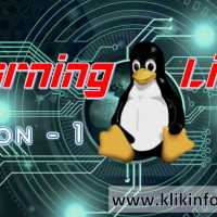 Learning Linux - Lesson 1