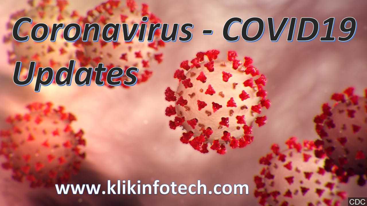 Coronavirus COVID19 Updates