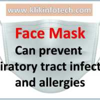 Face Masks can prevent respiratory tract infections and allergies